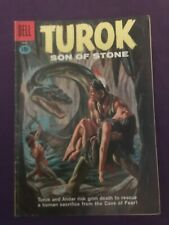 "TUROK SON OF STONE #23 ""THE CAVE OF FEAR"" -  (4.0) 1961"