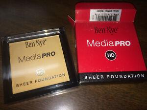 BEN NYE MEDIA PRO HD SHEER FOUNDATION * SHINSEI FAIREST HD-504 * NIB