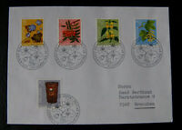 BMA022 Schweiz 1975 Pro Juventute Pflanzen Mi.Nr: 1062-1066 FDC Ersttagsbrief