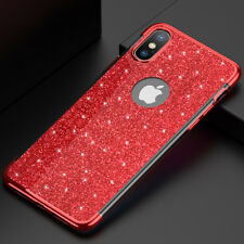 Slim Glitter Soft TPU Case Cover For iPhone 6S 7 8 X Samsung S7 S8+ S9+ Note 8 9