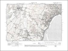 Lancashire in 1919 Old map of Ulverston 16NE repro