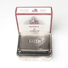 New easy use AUTO Cigarette tabacco Roller maker rolling machine SILVER box 70mm