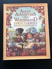 Alice's Adventures in Wonderland Lewis Carroll Michelle Wiggins 1983 FIRST ED