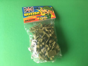 VINTAGE SET PACKAGE WITH VINTAGE TOY SOLDIERS BRITISH HONG KONG NEW