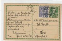 germany 1917  stamps card ref 21043