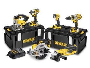 DeWalt DCK694P3 18v XR 6pc Combination 5.0Ah Kit - Latest Model