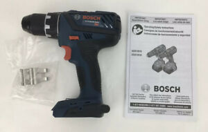 BOSCH Drill Driver/Drill 18V  Lithium Li-Ion DDS181 With Belt Clip New