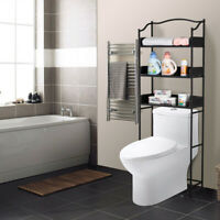 3-Tier Over-The-Toilet Bathroom Spacesaver Storage Rack Standing Shelf Organizer