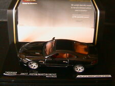 ASTON MARTIN DB7 GT NERO BLACK 2003 VITESSE 20677 1/43 BLACK NOIRE NOIR CLOSED