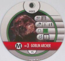 Gobelin Archer H003 The Hobbit Et Inattendu Voyage Heroclix Horde Token
