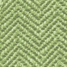 Henry Glass Snow Babies FLANNEL by Beth Logan F9540 66 Green Zig Zag Stripe BTY