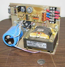 Electrostatics, Inc. Model 100-15V DC Power Supply 6A