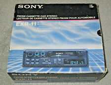 NEW in Box - SONY EXR-11 FM/AM Cassette Car Stereo - Digital Tuning Auto Reverse