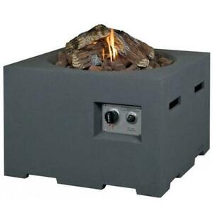 Norfolk Leisure/Happy Cocooning square gas firepit