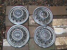 "60's 67  1967 Chevy Impala SS Super Sport Set of Four 14"" Hubcaps"