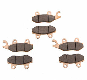 Brake Pads for Can-Am Commander XT 1000 12-18 Front & Rear Brakes by Race-Driven