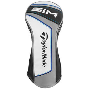 NEW 2020 TaylorMade Sim Driver Black/White/Gray/Blue Headcover