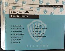 Goo Goo Gutterflower Promo CD