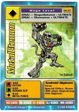 Metaletemon BO-27 1st Edition Holo Foil Digimon Card Booster Series 1 1999
