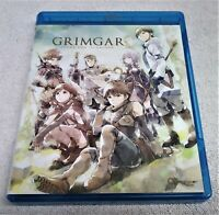 Grimgar Ashes and Illusions Bluray Complete Series (Read Info)