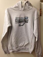 d14601c23 Philadelphia Eagles Super Bowl LII Champions Gray Youth Hoodie (Youth  Medium)
