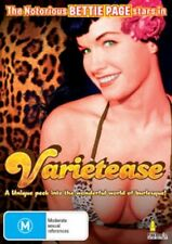 VARIETEASE - (BETTIE PAGE) - DVD - BRAND NEW!!! SEALED!!!