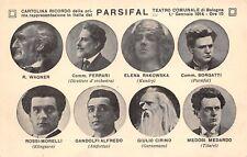 C7333) BOLOGNA, 1914, PRIMA RAPPRESENTAZIONE DEL PARSIFAL AL TEATRO COMUNALE.