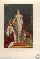 Kaiserin Marie Luise Kunstdruck vom 1936