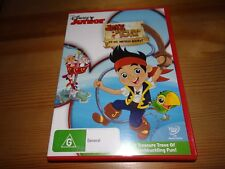 JACK AND THE NEVER LAND PIRATES : YO HO, MATEYS AWAY! DVD *BARGAIN*