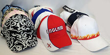 Baseball Cap Adjustable Strap Classic Cotton Mens Ladies New Visor Cadet Caps UK