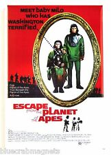 Escape from the Planet of the Apes FRIDGE MAGNET (2 x 3 inches) movie poster