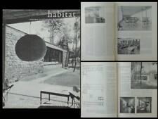HABITAT HABITATIONS n°3 1961 BIBLIOTHEQUE ROYALE DE BELGIQUE, JEAN ENGLEBERT