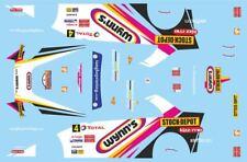DECALS 1/43 SUBARU IMPREZA WRC - #4 - DEBAECKE - RALLYE DU CONDROZ 2010 - D43371