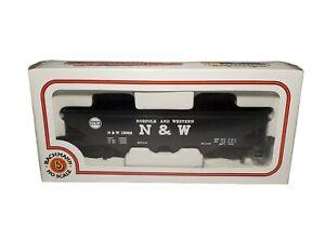 Bachmann N-Scale 40' Quad Hopper Norfolk & Western NW Black 73392