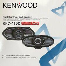 Kenwood KFC-415C 4x10-Inch 160W Two-way Custom-fit Car Speaker / 2 Speakers