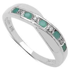 Emerald Anniversary Fine Rings