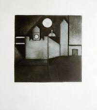 Kasten Karl (S.Francisco,1916–Berkeley, 2010) -Collograph- Edizioni Grafica Uno
