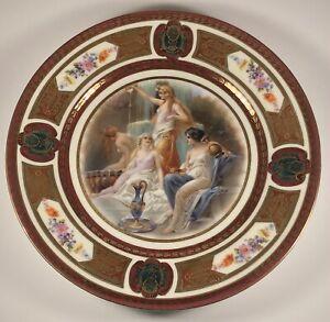 Antique 1920's Royal Schwarzburg Classical Mythology #3 Germany Porcelain Plate
