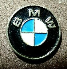 VINTAGE BEAUTIFUL OFFICIAL BMW GERMAN CAR LOGO PIN BADGE