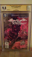 Batman The Dark Knight #7 CGC 9.8 AUTOGRAPHED by DAVID FINCH & PAUL JENKINS