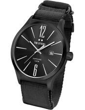 TW Steel 45mm Slim Line NATO TW1318 Watch - Black/black