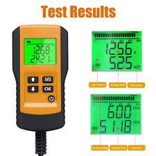 12V Automotive Car Battery Tester Digital Vehicle Analyzer 100~9999CCA USA B2C0