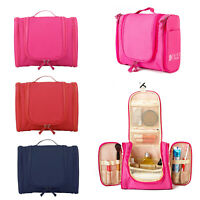 Waterproof Hanging Toiletry Bag Travel Cosmetic Kit Essentials Storage Organizer
