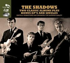 THE SHADOWS - TWO CLASSIC ALBUMS PLUS NEW CD