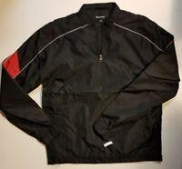 Sport Tek Men's Long Sleeve Quarter Zip Golf Rain Wind Breaker XS S M NEW FAST