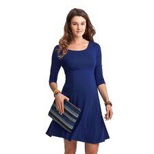 NWT - ISABELLA OLIVER Women's 'RICHMOND' Rich Navy Blue MATERNITY DRESS - 2