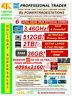 8-MONITOR TRADING COMPUTER RADEON 4K! XEON 3.46GHz! 512GBSSD! 2TBHDD DVDRW W10P
