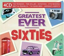 GREATEST EVER SIXTIES (60's) 4 CD SET - 80 HITS (Released July 17th 2020)