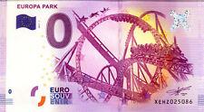 ALLEMAGNE Rust, Europa Park, 2017, Billet 0 € Souvenir
