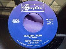 Rare Black Gospel Soul Funk 45 : Teddy Huffam & The Gems ~ Beautiful Home